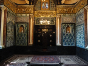 A moorish interior in London