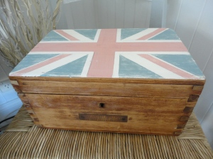 Union Jack Box after