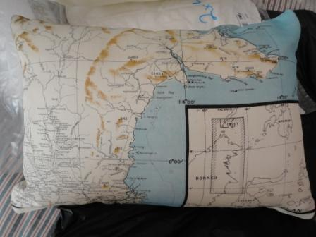 world war two silk escape aviator map