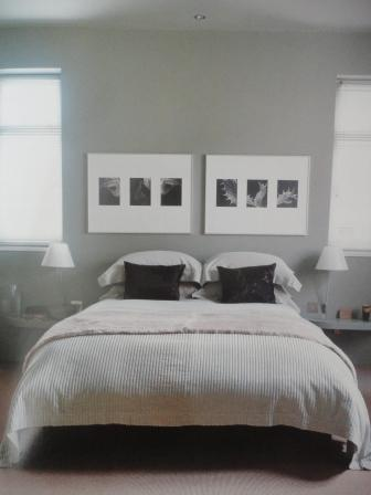 grey bedroom black and white photos