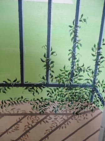 light shadow mural trompe l'oeil paint effects interiors
