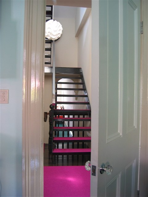 scott weston fuschia pink stair carpet