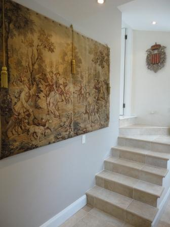 antique tapestry travertine tiles